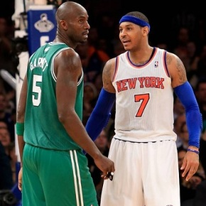 Carmelo Anthony, Kevin Garnett Trash Talking Turns Into Twitter Win forCheerios