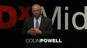 Colin Powell: Kids need structure