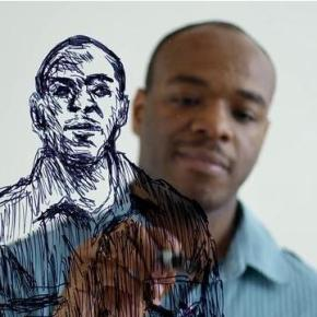Stephen Wiltshire draws NYC