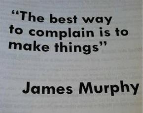 Quit Complaining and DoSomething