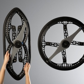 A Remarkable Folding Wheel For Bikes And Wheelchairs