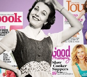 Women's Service Mags Trade Housekeeping for Style