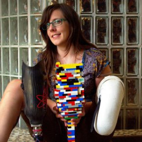 Prosthetic Leg Built With Legos