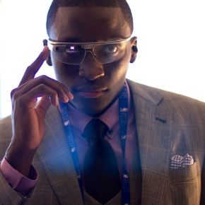 Victor Oladipo Wears Google Glass To NBA Draft