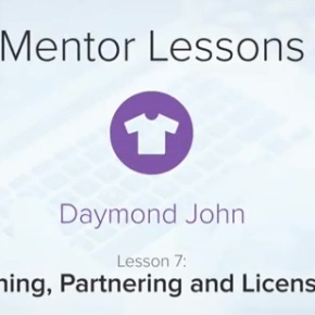 Daymond John: Pitching, Partnering and Licensing