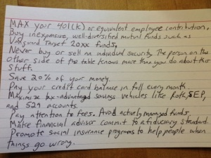 9.18.13 Financial Advice