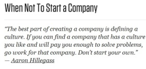 1.7.14 Starting a Company