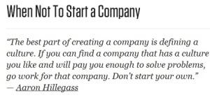 1.7.14 Starting a Company