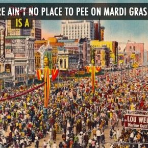 AirPnP Services Mardi Gras Revelers Desperate for aBathroom
