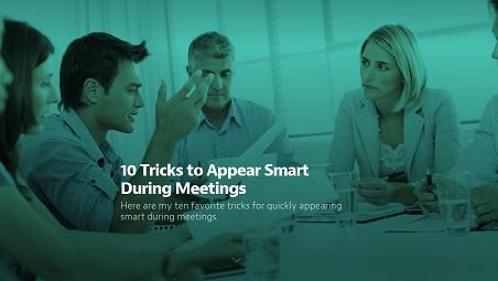 7.3.14 Appear Smart