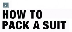 How To Pack ASuit